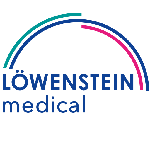 Das Logo von Löwenstein Medical International Website